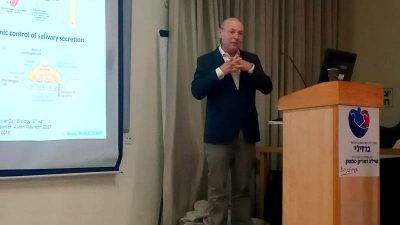 """ד""""ר אנדי וולף מרצה בכנס בישראל"""